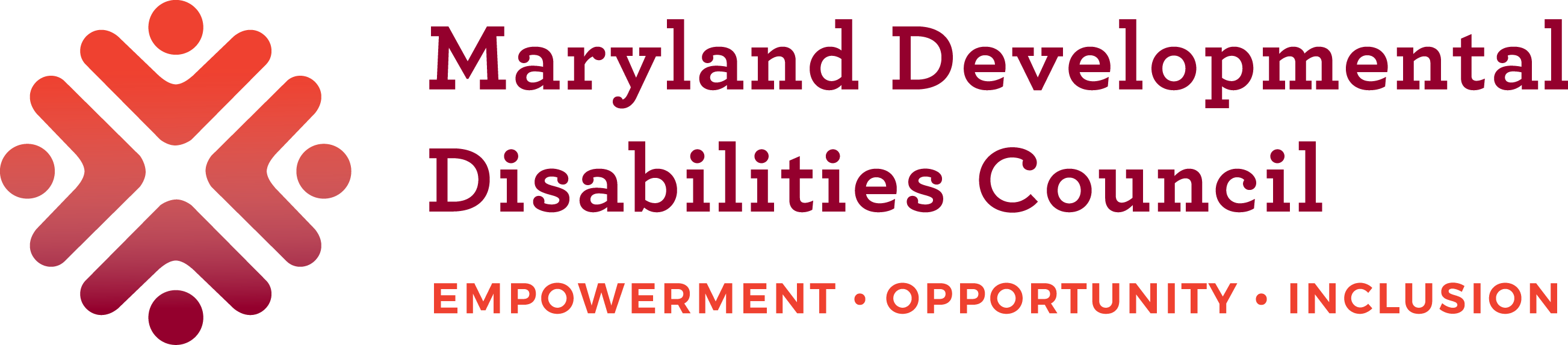 MDDC Logo Maryland Development Disabilities Council Empowerment Opportunity Inclusion