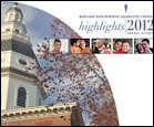 Cover for the 2012 Annual Report