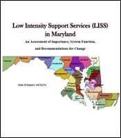Cover for the 2012 LISS Report