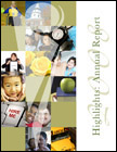 Cover for the 2008 Annual Report