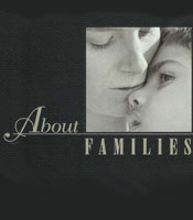 Cover for About Families Report