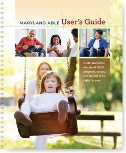 Maryland ABLE User's Guide Cover