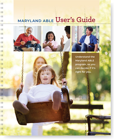 Cover of the Maryland ABLE User's Guide